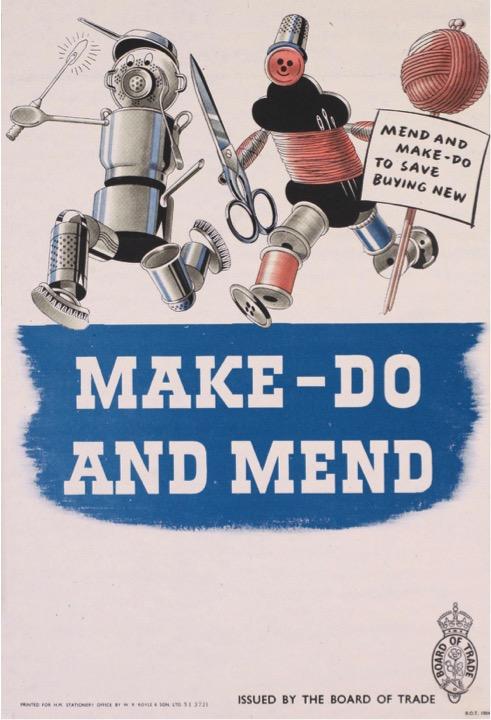 Make Do and Mend Scheme WW2