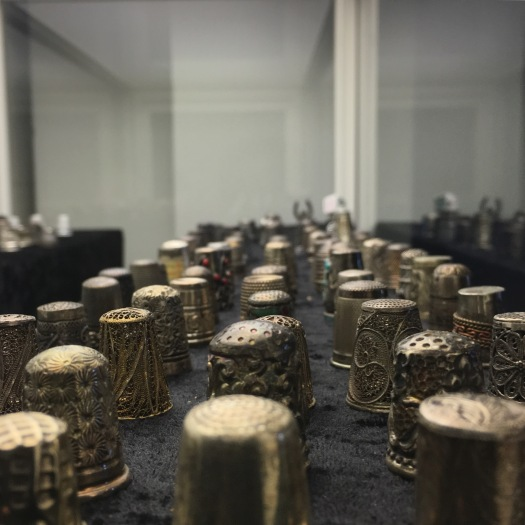 thimbles at The Lace Factory Museum