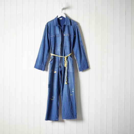 Tom of Holland boilersuit for The New Craftsmen, with braided belt