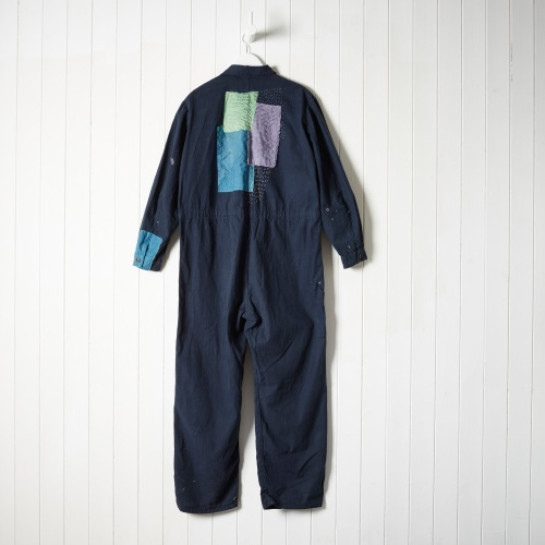 Tom of Holland boilersuit for The New Craftsmen, with textured layers