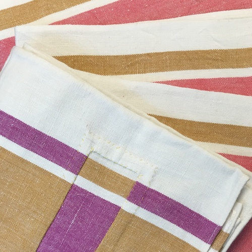 multi colour tea towel