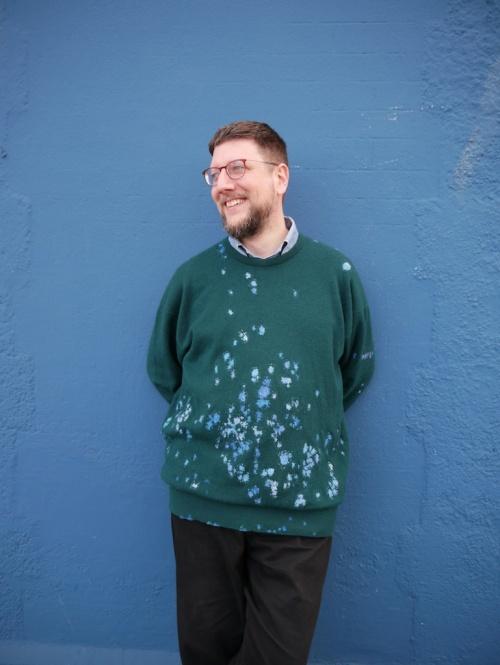 MUM+DAD Sweater Repaired tomofholland visiblemending