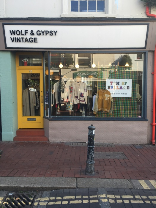 Wolf and Gypsy tomofholland shop window